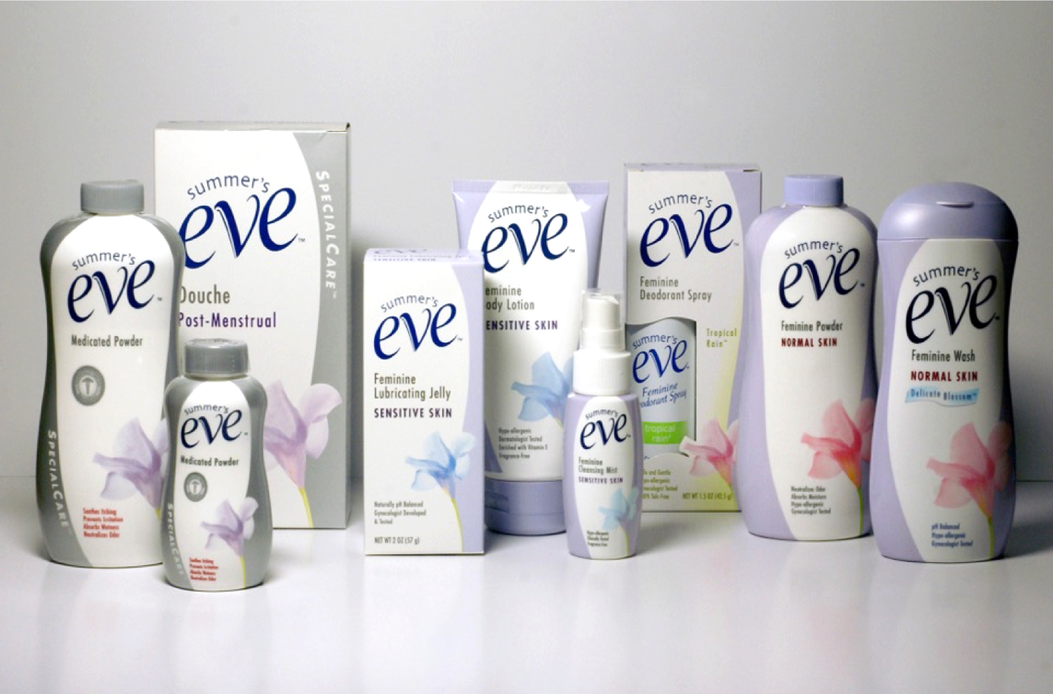 summers eve packaging design boxes
