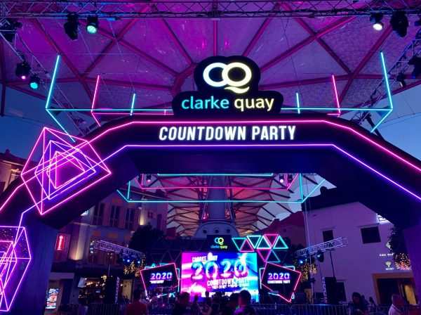 Clarke Quay Countdown 2020_entrance arch