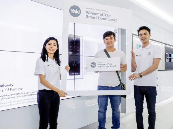 Yale Smart Shop Activation_Campaign Lucky Draw Winner